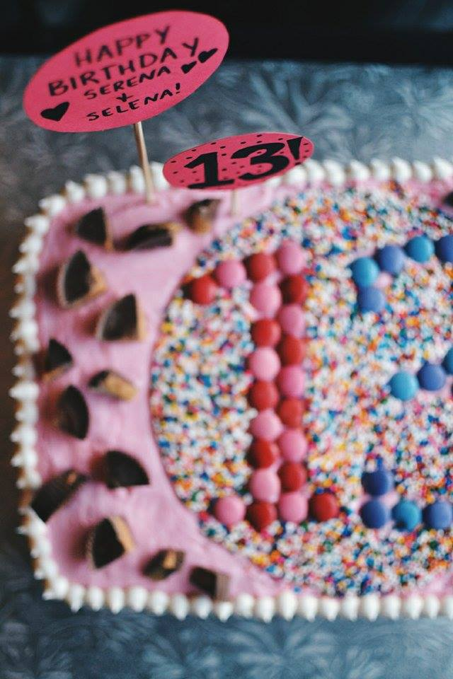 Reese Smarties And Sprinkles 13th Birthday Cake 11067867 10152784512116149 1566351462 O 11074669 10152784512196149 1389940036 N