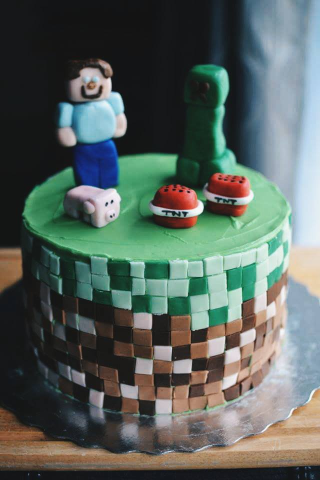 Minecraft Cake Crumbs And Tea