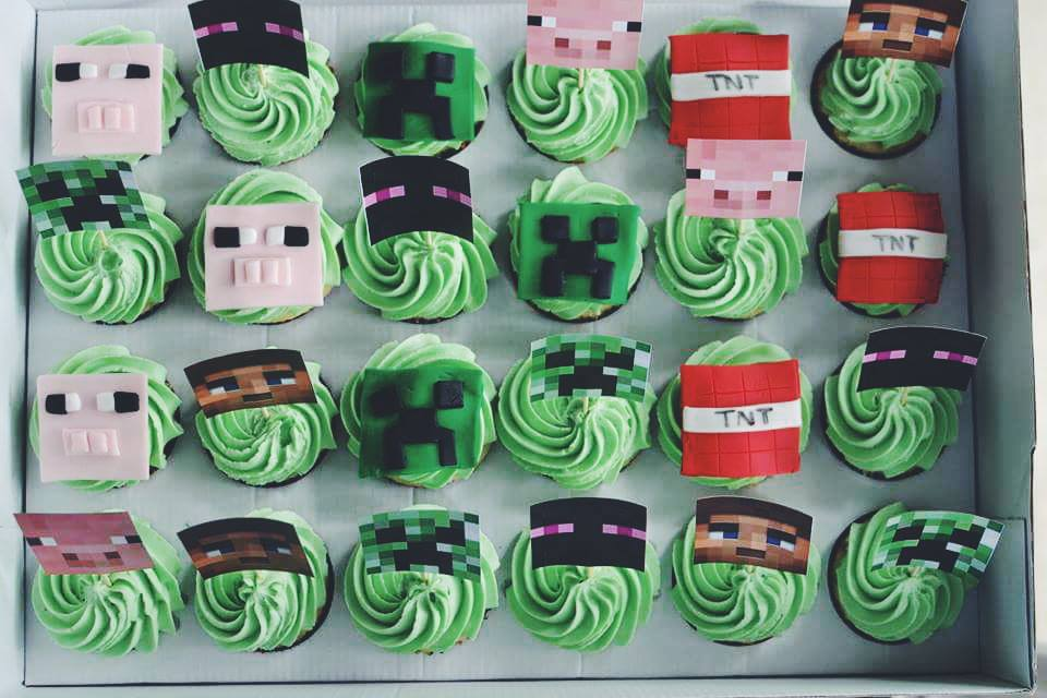 Minecraft Cupcakes Crumbs And Tea
