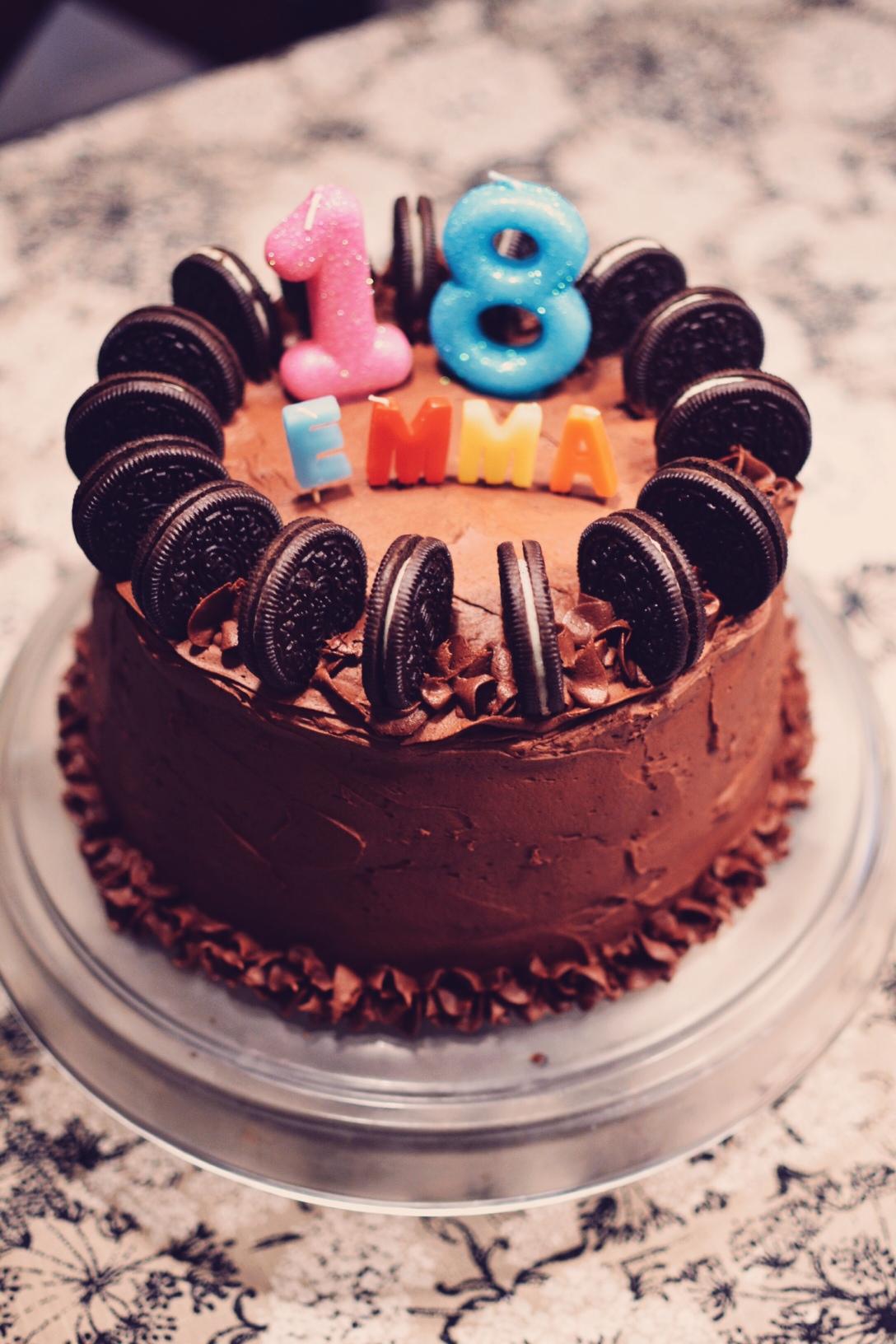 My 18th Birthday Cake Crumbs And Tea